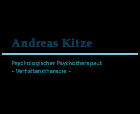 Psychologischer Psychotherapeut Andreas Kitze